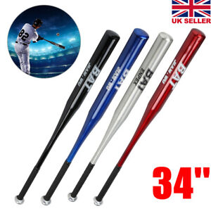 34-Inch Lightweight Aluminum Alloy Baseball And Softball Bat For Young Adults
