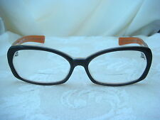 PAUL FRANK WOMENS FRAME 002 BRONCO GRY ORANGE BROWN WITH CASE IS YOUR FRIEND