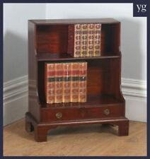 Mahogany Edwardian Antique Bookcases