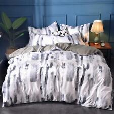 3D Schwarze Textur NAM93612 Bett Kissenbezüge Decke Bettdecke Abdeckung Set Fay