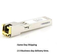 Cisco GLC-T Compatible 10/100/1000BASE-T SFP Copper RJ-45 100 (3 Year warranty)