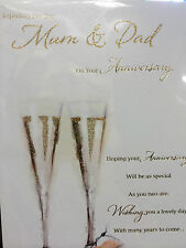 Anniversary Card for Mum & Dad