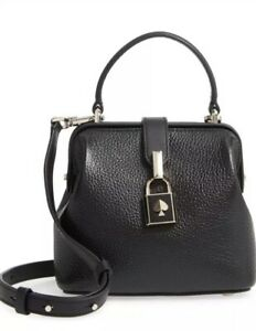 ❤️ kate Spade Small Remedy Leather Black Satchel Original Packaging