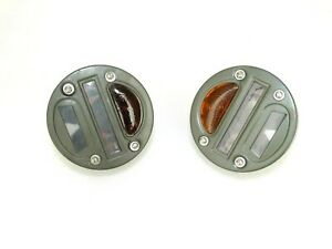 (3 Glass) Cat Eye Rear Tail Light 4'' Willys MB Ford GPW Jeep
