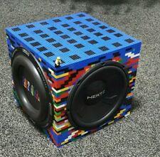 Lego Active Subwoofer Custom Earthquake Sound Radiator, Hertz Sub, amplifier D