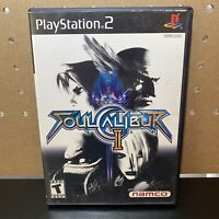Playstation 2 PS2 Fighting Game Soul Calibur II 2 TESTED & WORKING CIB W/ Manual