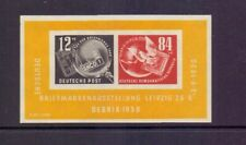 GERMANY - DDR 1950 DEBRIA M/S MNH