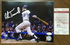 Alan Trammell Autographed 8x10 Photo Detroit Tigers Signed Auto - JSA Certified