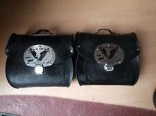 Krauser echt Leder Satteltaschen abschließbar