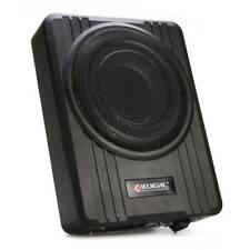 8'' Car Under-Seat Active Subwoofers Power Amplifier Bass HiFi Slim Speaker Wire