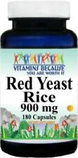 Red Yeast Rice 900mg 180 Capsules - Dietary Supp.  Support Cardiovascular Health