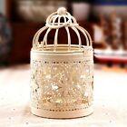 Metal Moroccan Birdcage Votive Candle Holder Hanging Lantern Wedding Decor New
