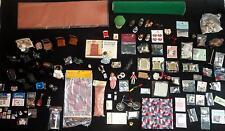 "HUGE Lot Dollhouse Miniatures 130+ Pieces Furniture-Dolls-Accessories 1"" Scale"