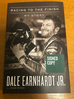 Dale Earnhardt Jr. Signed Book, Racing to the Finish. My Story -  Autographed