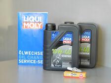 Sistema de mantenimiento MALAGUTI CENTRO 125 aceite bujía Servicio Inspección