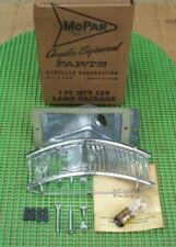 NOS MoPar 1959 Plymouth Belvedere Fury Savoy left PARK LAMP PACKAGE 1879589
