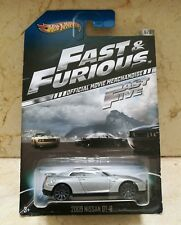 Hot Wheels 2009 NISSAN GT-R Fast & Furious 6/8. A todo gas.Official