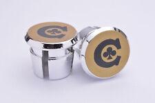 Colnago C gold Plugs Caps Tapones guidon bouchons lenker retro New