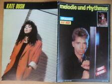 MELODIE UND RHYTHMUS 12/1986 * Arnulf Wenning Supercharge Kate Bush Saxon