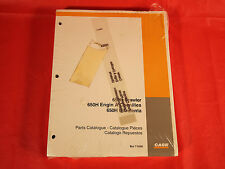 Case 650H Crawler Parts Catalog Manual - In Factory Plastic - Bur 7-5500