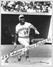 Dave Parker Pirates Reds A's 1975 Game Photo