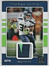 Thomas Rawls Seattle Seahawks 2017 Donruss Threads Game-Used Jersey Patch /99