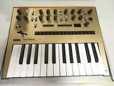 Korg Monologue Monophonic Analog Synthesizer with Presets - Gold