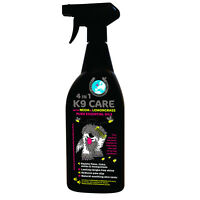 4 IN 1 K9 CARE Pet repellent for fleas, ticks, mites and mosquitoes 750ml Spray
