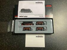 More details for marklin spur z scale/gauge. coal transport train set.