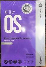 Pruvit KETO OS 3.0 Chocolate Swirl CAFFEINE FREE 30 New Sealed Box  *Expired