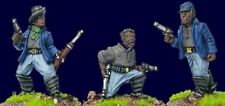 Artizan - Wild West Buffalo Soldiers with Pistols (Foot) AWW082 28mm Unpainted