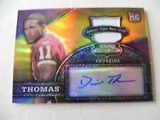 2008 Bowman Sterling Gold Relic Auto RC Devin Thomas #11/100   1/1 jersey no.