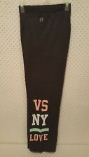 NWOT Victoria's Secret PINK Angel Boyfriend Pants Charcoal Gray M