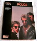 1986 - THE BEST OF POLICE - GUITAR SONGBOOK + NOTES & TAB - GREAT GIFT ITEM!