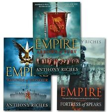 Anthony Riches Empire Series Collection 3 Books Set Wounds of Honour, Arrows