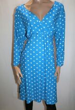 Jon & Anna New York Brand Blue White Polka Dot Wrap Dress PLUS Size 2X BNWT #LIN