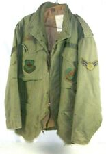 OG-107 VIETNAM FIELD JACKET COLD WEATHER FIELD COAT USAF 437th Airlift Command
