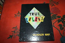 Orchard Park High School Yearbook l991,  New York -Quaker