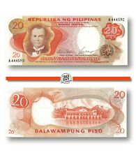 Philippines 20 Pesos 1969 Pn 145a Unc, Banknote24