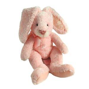 "Russ Berrie Pink Bunny Rabbit Yuggums Plush 12"" Long Ears Stuffed Animal 20027"