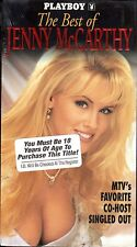 PLAYBOY~The Best Of Jenny McCarthy~BRAND NEW VHS~Fast 1st Class Mail
