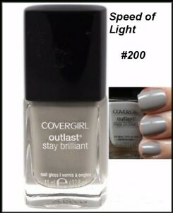 NEW Cover Girl Outlast Stay Brillant Nail Polish  Discontinued  You Choose