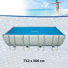 Intex 29027 thermische Solarabdeckplane für Pool 732x366cm