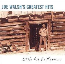 Joe Walsh's Greatest Hits: Little Did He Know... [Saudi Arabia] by Joe Walsh (Guitar) (CD, Nov-1997, Geffen)