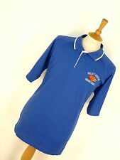 Homme Rétro Vintage 90's Valley stream Basketball Sports Polo Shirt XL