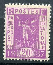 STAMP / TIMBRE DE FRANCE NEUF N° 322 ** EXPOSITION PARIS 1937