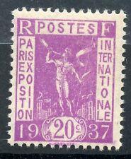 STAMP / TIMBRE DE FRANCE NEUF N° 322 ** EXPOSITION PARIS 1937