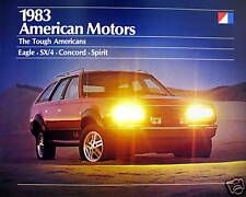 1983 AMC  Full-Line new vehicle brochure