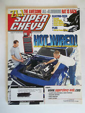 September 2001 Super Chevy Magazine (69 Camero RS Mixes High Tech With Muscle)