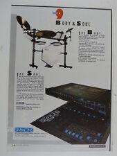 retro magazine advert 1986 SIMMONS sds9 / mtx9